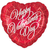 Valentines Day Heart Shaped Foil Balloon - Funzoop