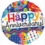 "18"" Happy Anniversary Foil Balloon - Funzoop"