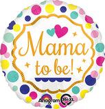 Mama to Be Baby Shower Foil Balloon - Funzoop The Party Shop