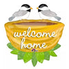 "32"" Large Welcome Home Nest Foil Balloon - Funzoop"