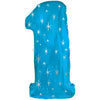 "38"" Extra Large Sparkle Number Foil Balloon - Blue [Available Milestone Digits 1 and 40]- Helium Inflated"