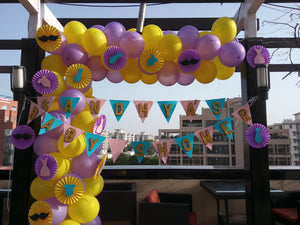 Baby Shower Balloons Arch [BA03] - Funzoop