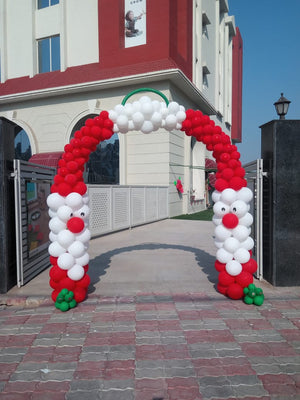 Christmas Balloon Arch Decoration [BA21] - Funzoop
