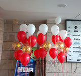 Helium Balloon Bunches with Corporate Branding [BN03] - Funzoop