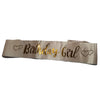 Birthday Girl Sash - Rose Gold - Funzoop