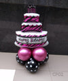 Happy Birthday Pink Cake Foil Centerpiece [CP02] - Funzoop