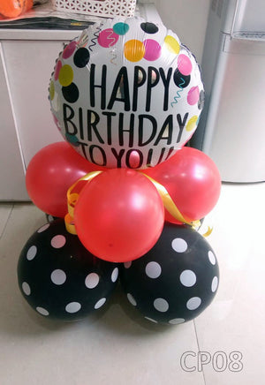 Happy Birthday to You Polka Centerpiece [CP08] - Funzoop