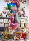 Mermaid 5 in 1 Foil Balloons Bouquet Set [5 Pcs] - Helium Inflated - Funzoop The Party Shop