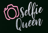 Selfie Queen - General Purpose Photo Booth Placard - Funzoop