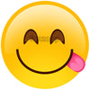 Licking Emoji - General Purpose Photo Booth Placard - Funzoop