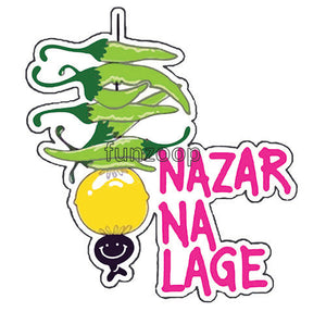 Nazar Na Lage - General Purpose Photo Booth Placard - Funzoop