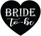 Bride To Be Bachelorette Photo Booth Placard - Funzoop