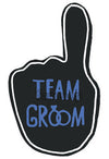 Team Groom Photo Booth Placard - Funzoop