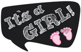 It's a GIRL! Photo Booth Placard - Funzoop