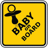 Baby on Board Photo Booth Placard - Funzoop