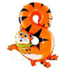Animal Shaped Number Foil Balloon (Digit 8) - Funzoop
