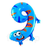 Animal Shaped Number Foil Balloon (Digit 9) - Funzoop