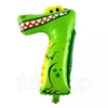 Animal Shaped Number Foil Balloon (Digit 7) - Funzoop