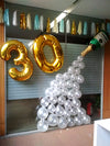 Balloons Champagne Tassel Foil Numbers Office Decor Funzoop