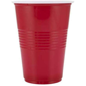 Beer Pong Glasses - RED - Funzoop