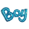 BOY Letters Foil Balloon - Blue - Funzoop
