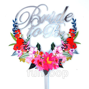 Bride To Be Cake Topper - Funzoop