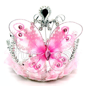 Tiara Butterfly Crown Headband - Funzoop