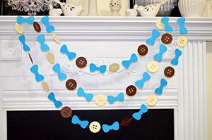 Buttons and Bow Tie Garland - Funzoop