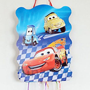 Cars Pull String Pinata / Khoi Bag - Funzoop