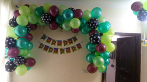 Balloons Home Kid's Birthday Wall Decoration [HD07] - Funzoop