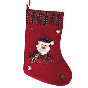 Christmas Santa Decorative Stocking Hanging
