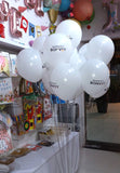 Helium Balloon Bunches with Corporate Branding [BN04] - Funzoop The Party Shop