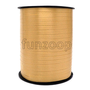 Curling Balloon Ribbon 500 Yards (1500 feet) - Golden