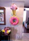 Donut Ice Cream Candy Foil Balloons Bouquet - Funzoop