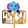 Dumbo Elephant Theme Birthday Cake Topper - Funzoop