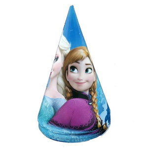 Frozen Theme Party Caps - Funzoop
