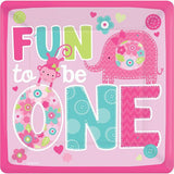 "29"" Fun To Be One Square Foil Balloon - Funzoop"