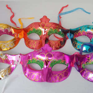 Glitter Party Eye Mask - Assorted - Funzoop