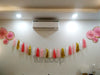 Glitter Fans Tissue Paper Tassel Garland Wall Decor - Funzoop