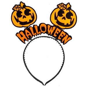 Halloween Pumpkin Headband - Funzoop