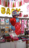 Happy Anniversary Foil Balloon Arrangement [Helium Inflated] - Funzoop The Party Shop