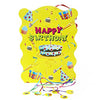 Happy Birthday Large Pinata /Khoi Bag [Assorted Colors] - Funzoop