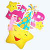 Happy Birthday Large Party Banners - Smiley - Funzoop