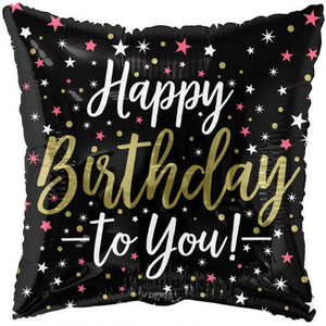 "18"" Happy Birthday To You Celebrations Foil Balloon - Funzoop"