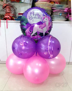 Happy Birthday Unicorn Theme Centerpiece [CP27] - Funzoop