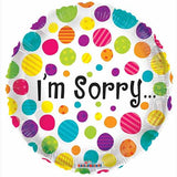 I am Sorry Dots Helium Balloon - Funzoop