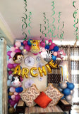 Jungle Theme Half Arch Wall Backdrop (WD05) - Funzoop The Party Shop