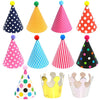 Kids Birthday Party DIY Hats, Assorted (Small Size) - Set of 11 hats - Funzoop