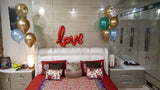 Love Foil Balloons Arrangement - Funzoop