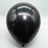 Metallic Latex Balloons Black Funzoop - The Party Shop